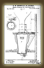 Lewis Latimer Train Water Closet