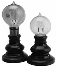 where was the first lightbulb invented